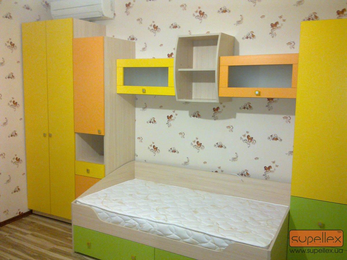 """Детские комнаты от тм """"supellex"""" """" supellex мебель под заказ."""